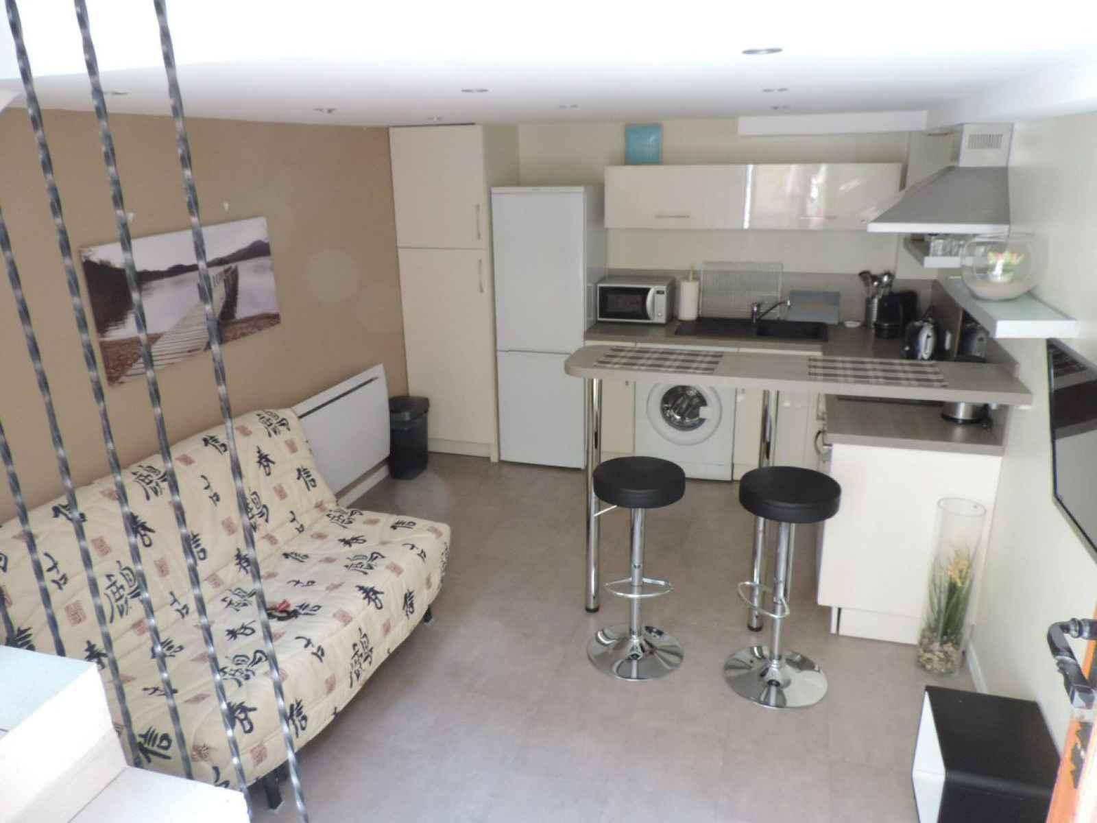 Salle De Bain Blanche Grise Et Bois ~ Location Saisonni Re Appartement 2 Pi Ces Nice Le Port Dinamy